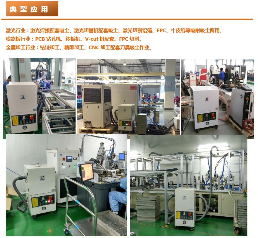 成都勁邦DGW-series臥式高負壓工業集塵器